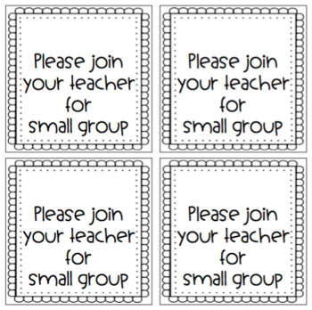 Small Group Invitation Cards {Editable version included}