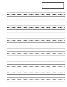 Small lined writing paper