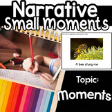 Small moments Writing Google classroom  lucy calkin Distan