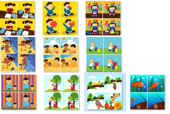 BUNDLE: 50 STORIES WITH 200 PICTURES FOR STORY SEQUENCING ACTIVITIES