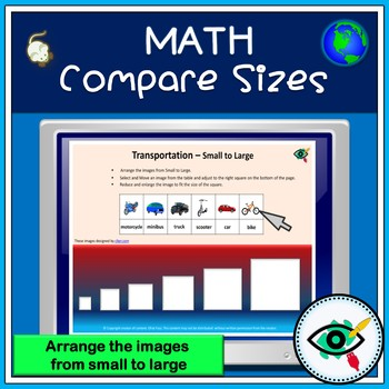 Compare sizes- Small to Large-paperless