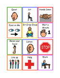 Small visual supports Autism