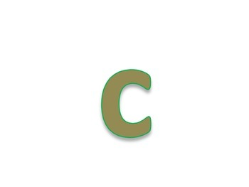 Small/Lower-case Letter Flash Cards