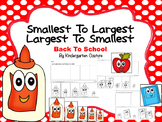 Sequencing By Size (Back To School)