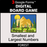 Smallest and Largest Numbers - Digital Board Game | Google Forms