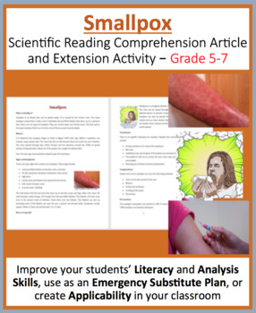 Smallpox - Science Reading Article - Grades 5-7