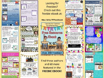 Smart 2 Heart's Freebie Page from the TPT Social Marketplace Ebook