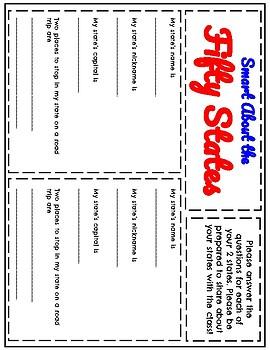 Smart About the Fifty States Worksheet