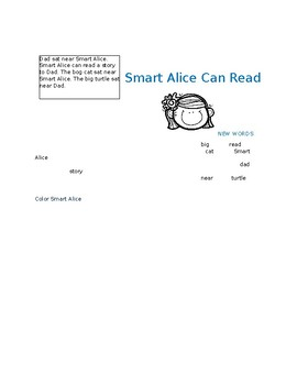 Smart Alice Can Read