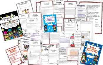 Smart Answer Superheroes{Student Guide to Writing for an Applied Skills Test}