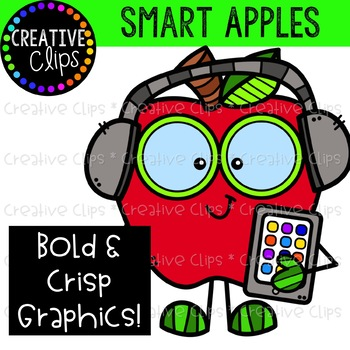 Smart Apples {Creative Clips Clipart}