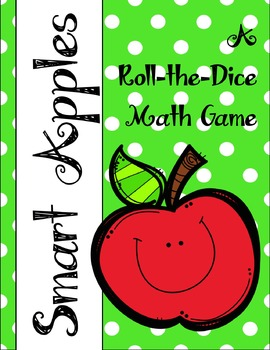 Math Dice Game - Apple Themed