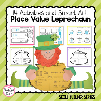 Smart Art Place Value - Leprechaun & Printables