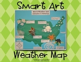 "Weather Map Activity (A ""Smart Art"" Science Project for Primary Children)"