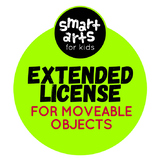 Smart Arts For Kids Clip Arts Extended License for Moveabl