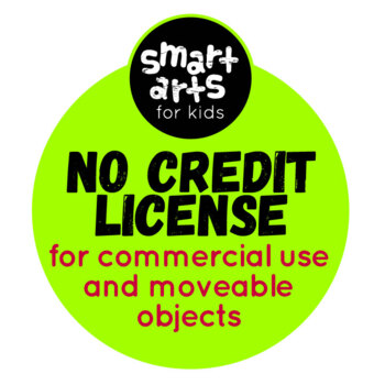 Smart Arts For Kids Clip Arts No Credit Required Commercial License