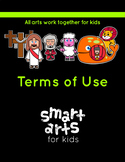 Smart Arts For Kids Clip Arts TERMS OF USE