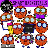Smart Basketball Clipart {Creative Clips Clipart}