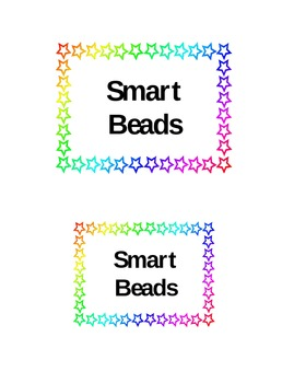 Smart Beads Labels and Tickets