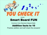 Smart Board Activity* ADDITION facts to 10 & MAGIC Self Ch