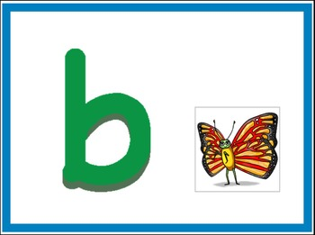 Smart Board Alphabet Activity Lowercase Letters