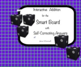 Smart Board Addition - Math Center with Self-Revealing Answers