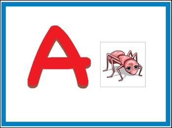 Smart Board Alphabet Activity