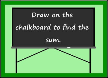 Smart Board Back to School Theme Addition Activity Through 5