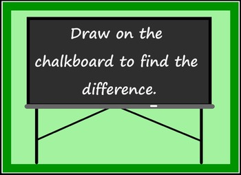 Smart Board Back to School Theme Subtraction Activity Through 10