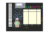 Smart Board Calendar Page: Even/Odd Numbers and Days of School