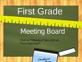 Smart Board Calendar for math common core