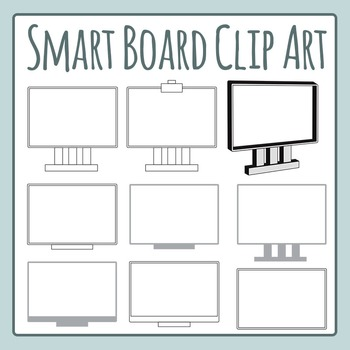 Smart Board Clip Art Set for Commercial Use