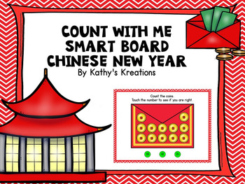 Smart Board Counting -Chinese New Year
