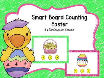 Smart Board Counting- Easter