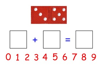 Smart Board Domino Addition - Domino Addition Worksheet FREEBIE in Preview!
