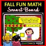 Kindergarten SMARTBoard Apple Math Activities