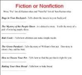 Smart Board Fiction or Non Fiction