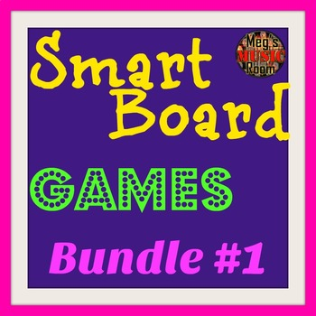 Smart Board Game Bundle 1 - Composers, Rhythm, Treble Clef, Classical, Orchestra