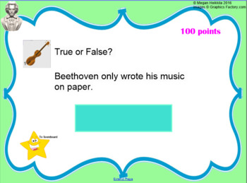 1/2 OFF Music Game Bundle - Rhythm, Treble Clef, Composers, Orchestra SMARTBOARD