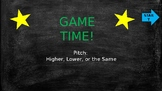 Smart Board Game - Pitch: Higher, Lower, or the Same