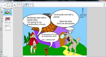 Smart Board Grammar: Exclamations and Commands