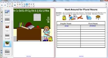 Smart Board Grammar: Hunting for Plural Nouns