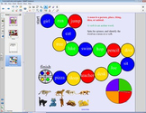 Smart Board Grammer: Nouns and Verbs Work Together