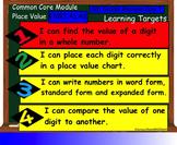 Interactive Place Value Smart Board Lesson