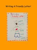 Smart Board Kindergarten Friendly letter