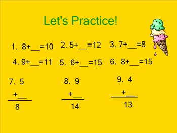 Smart Board Lessons: Primary Subtraction Strategies