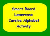 Smart Board Lowercase Cursive Handwriting Activity