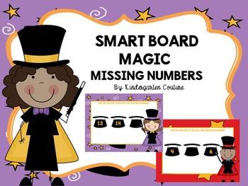 Smart Board Magic Missing Numbers