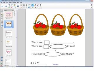 Smart Board Math: Beginning Multiplication, Division, and Fractions