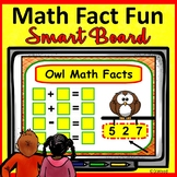 SMARTboard Math Fact Families